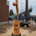 Baseball and Bat for U of M