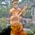 Skeleton Playing the Guitar